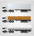 cargo traffic vector image