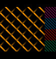 cellular grid mesh pattern with shade interlaced