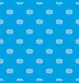 literature pattern seamless blue vector image vector image