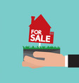 real estate for sale vector image