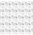 Seamless pattern of triangles in sketch style vector image
