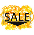 season spring and summer sale off sign over grunge vector image vector image