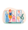 self acceptance and confidence vector image vector image