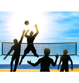 Summer volleyball vector | Price: 1 Credit (USD $1)