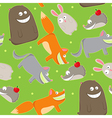 cute wildlife vector image