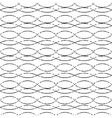 dotted waved pattern on background vector image vector image