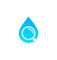 find water logo icon design vector image