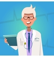 Hospital Doctor Poster vector image