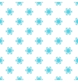 Snowflake pattern cartoon style vector image vector image