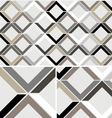 Vintage Chevron Diamond seamless pattern