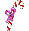 christmas candy vector image