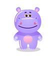 cartoon funny cute teddy bear child vector image vector image