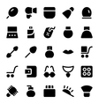 Clothes Icons 16 vector image vector image