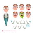 emoji face icons symbols wonknerd vector image vector image