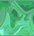 liquid seagreen marble background vector image vector image