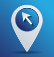 web arrow symbol cursor icon vector image vector image