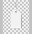 brown cardboard price tag for sale campaign vector image vector image