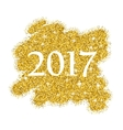 gold glitter sale background for poster abstract vector image vector image