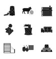 machine equipment lift and other web icon in vector image vector image