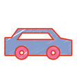 normal car to transportation and modern style vector image