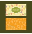 party decorations bunting horizontal frame pattern vector image