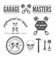 set logo badge emblem and logotype element vector image vector image