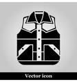 Waistcoat sketch icon vector image vector image