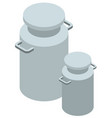 3d design for milk tanks vector image vector image