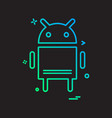 android icon design vector image