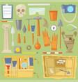 archeology archaeological finds and tools