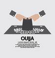 Ouija Board Playing vector image