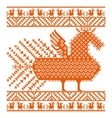 Russian old embroidery and patterns vector image vector image