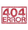 stamp text 404 error vector image