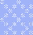 Texture with snowflakes vector image vector image