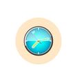 Watch icon wall clock icon vector image vector image