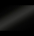 abstract black metal background vector image vector image