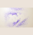 glowing particles liquid dynamic flow trendy vector image