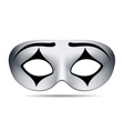 Pierrot carnival mask vector image vector image