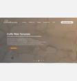 web template design watercollor background vector image vector image