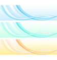 Abstract waves vector image