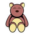 baby bear icon cartoon vector image