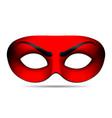 Devil carnival mask vector image