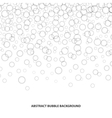 Abstract bubble background vector image
