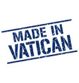 made in vatican stamp vector image vector image