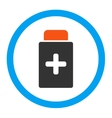 Medication Bottle Rounded Icon vector image vector image