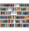 Modern bookshelf vector | Price: 1 Credit (USD $1)