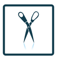 Tailor scissor icon vector image vector image