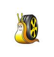 tire service conceptual vector image