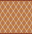 abstract seamless triangles pattern vector image