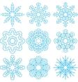 Beautiful Snowflakes Set